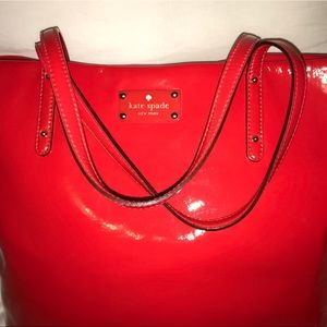 kate spade Bags - Kate Spade ♠️ Ted Patent Leather Tote Purse